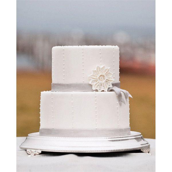Filigree Sugar Snowflake Wedding Cake Topper Decoration, White ...