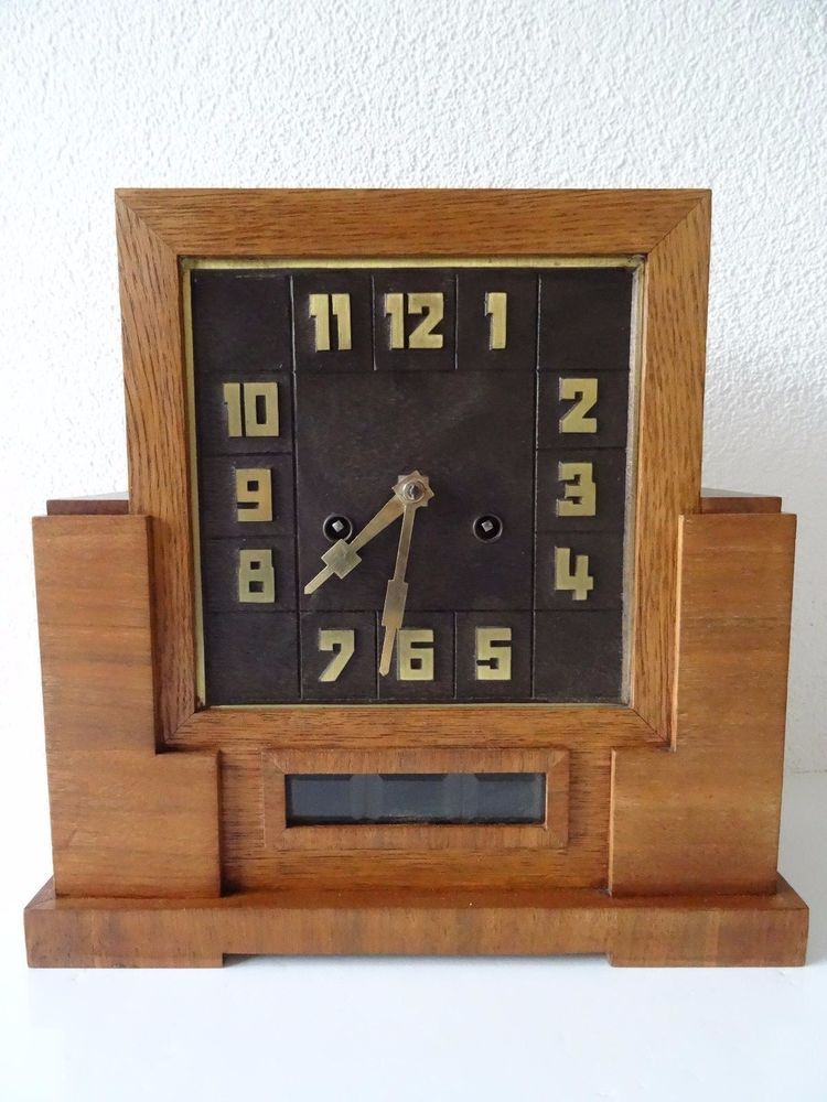 Mauthe german mantel clock