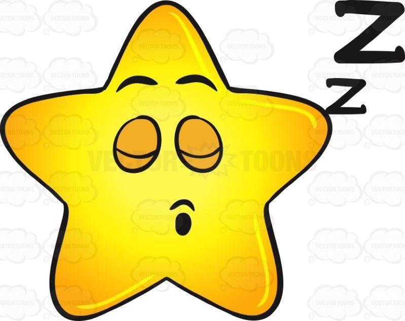 snoring gold star cartoon drifting zs emoji rh pinterest com Super Star Clip Art Shoes and Socks Clip Art