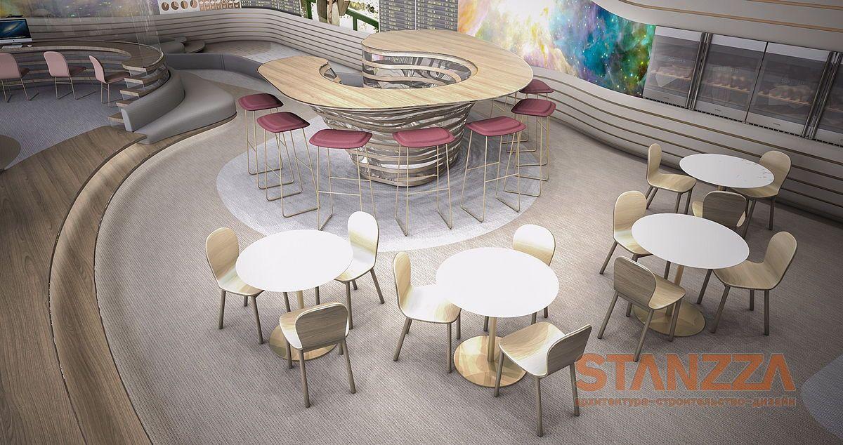 Дизайн VIP-зала ожидания в аэропорту Милана, Италия ...
