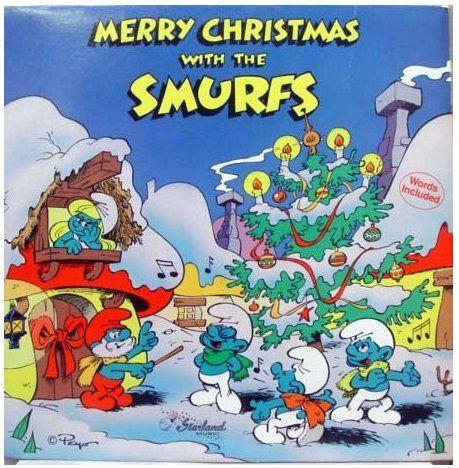 Smurfs Christmas.Merry Christmas With The Smurfs ᔕ ᖇᗩﬡᘐᙓ ᘉᗝᐯᙓᒪ ૪