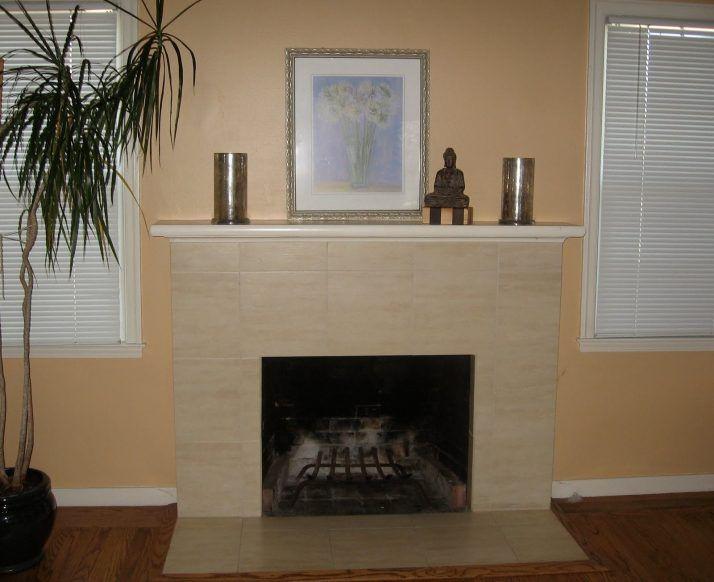 Splendid Gas Fireplace Tile Surround Ideas 31