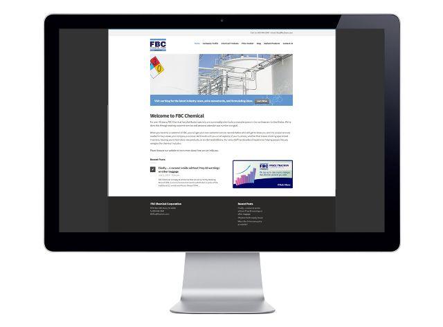 FBC Chemical Website Design & Development - Axis2Design