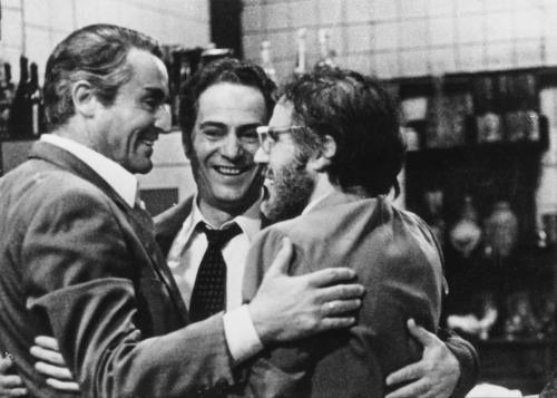 Stefano Satta Flores con Vittorio Gassman e Nino Manfredi in \