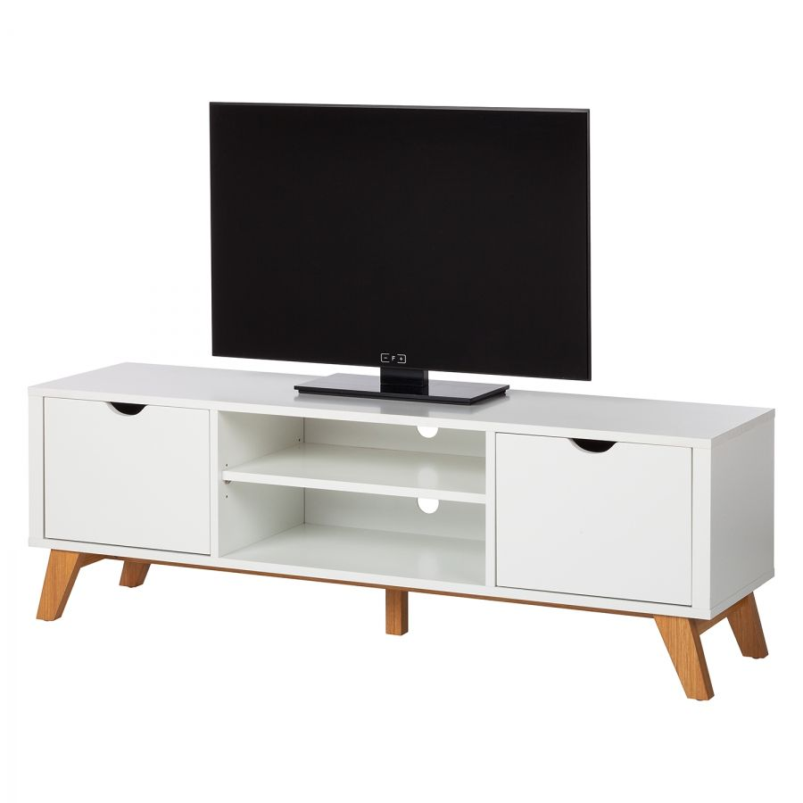 Tv Lowboard Dot Tv Lowboard Brekille Weiß Eiche House Furniture Vinyl