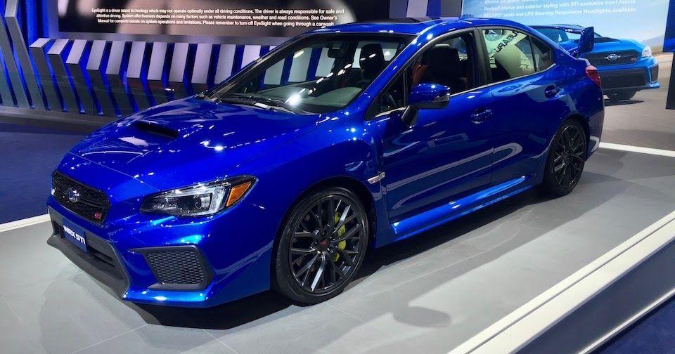 The 2018 Subaru Wrx Sti Is Thankfully More Of Same Detroit Auto Show New Cars