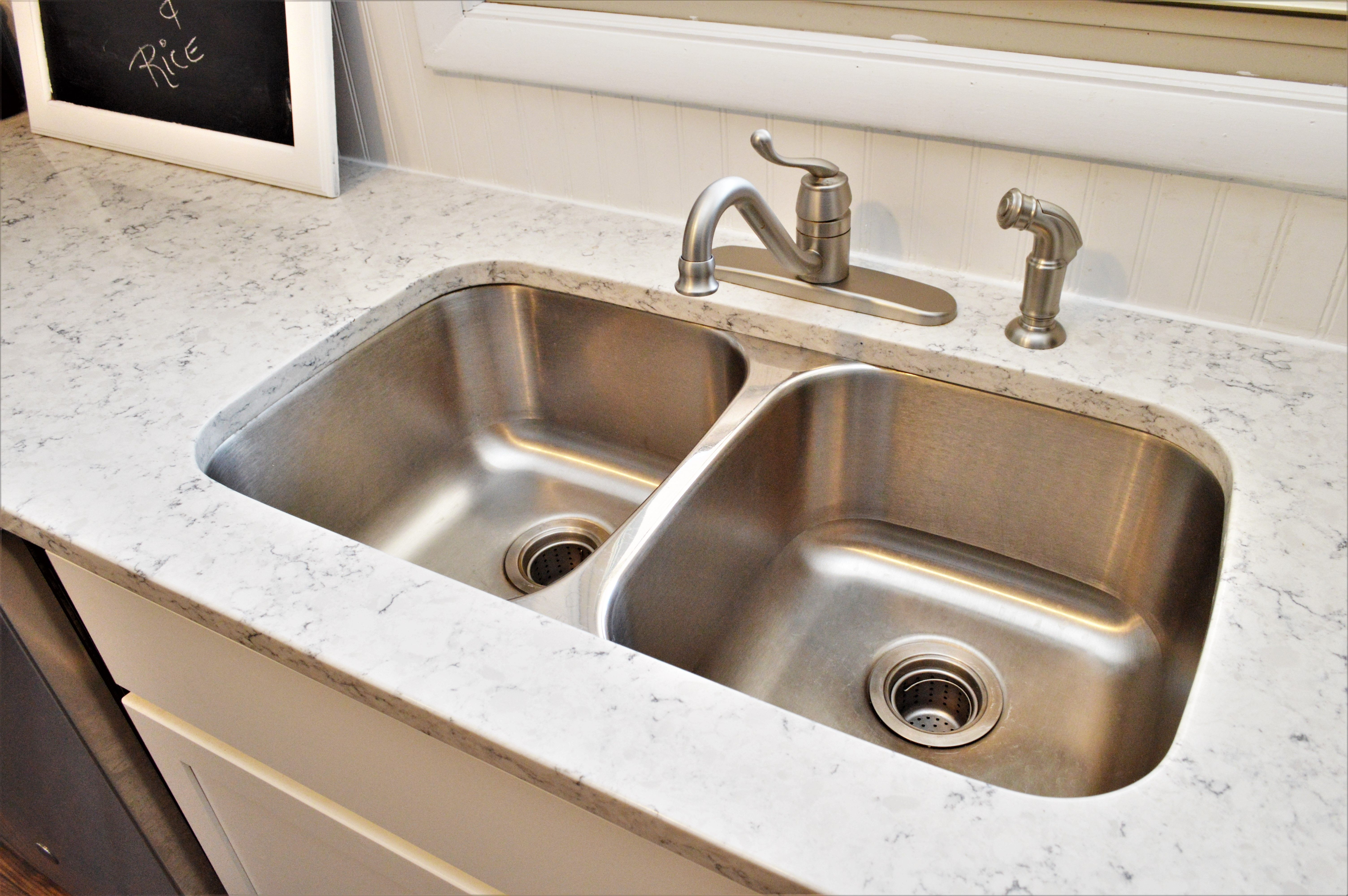 Bailey\'s Cabinets, Pelican, Equal Bowl Undermount Stainless ...