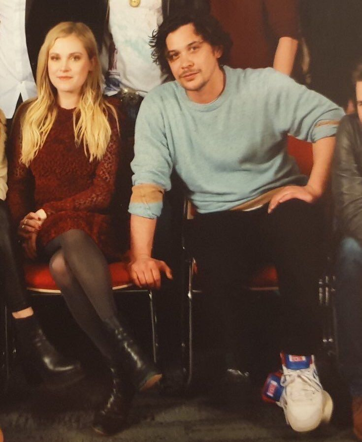 Bob and Eliza during the SyFy Live at #nycc18 | | The 100 | in 2019