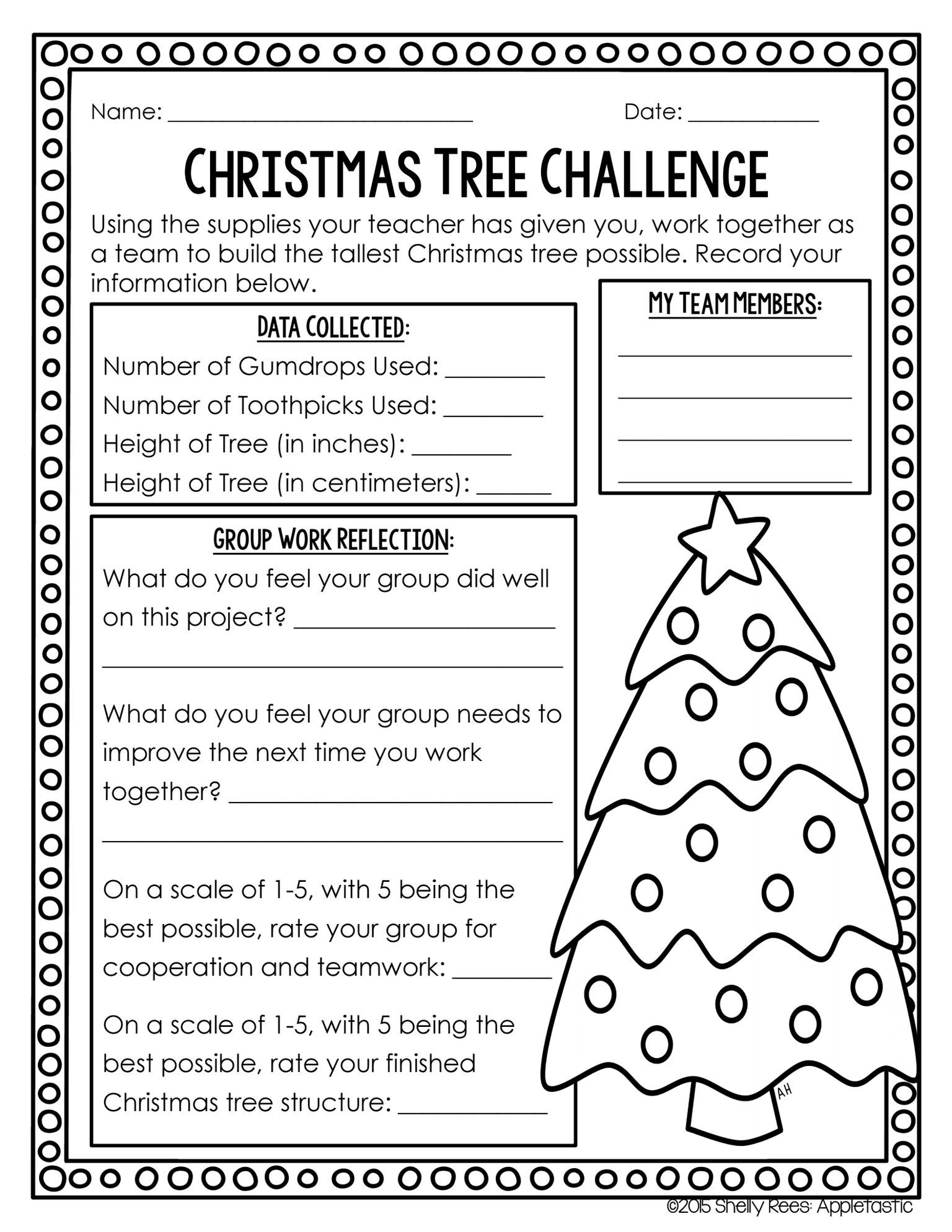 Shared With Dropbox There Are No Actual Directions But I Like The Idea Christmas Teaching Christmas Stem Christmas Lesson