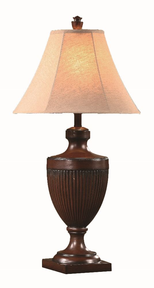 Bison Brown Table Lamp