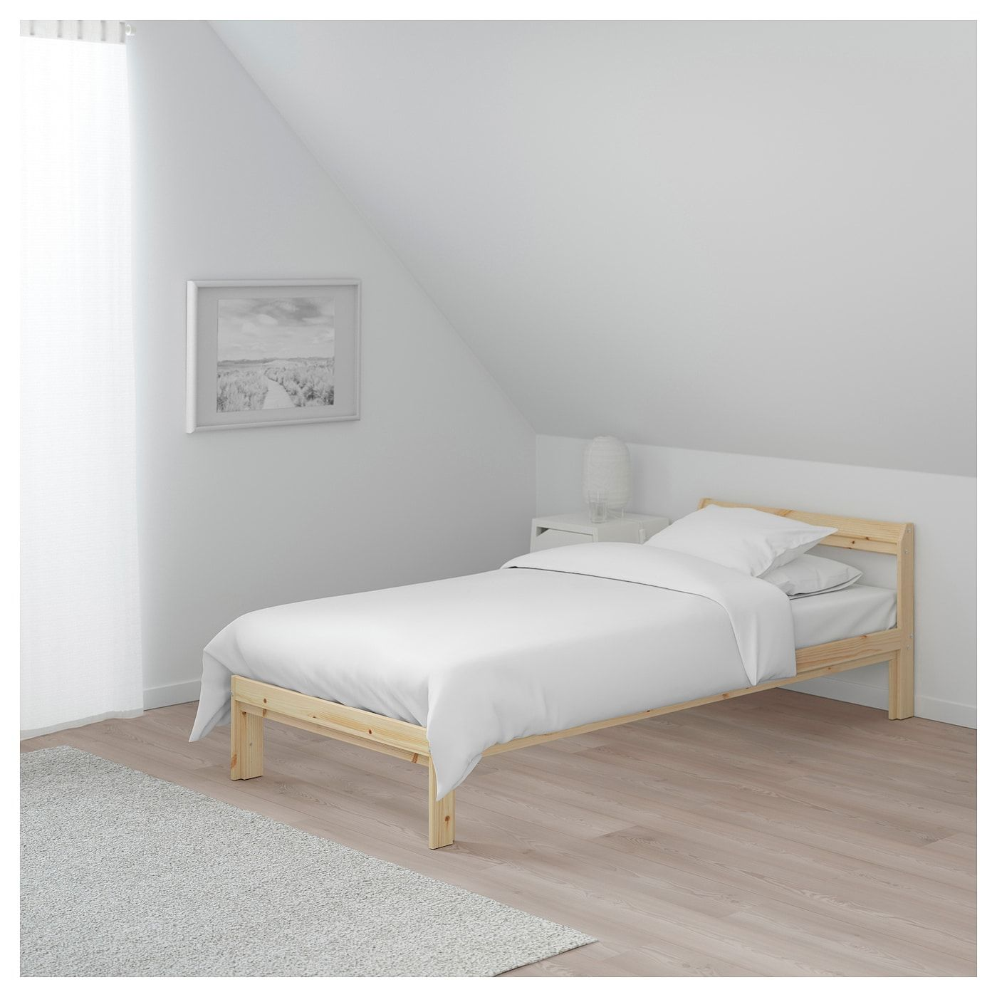 Neiden Bed Frame Pine Twin Ikea Single Bed Frame Bed Frame