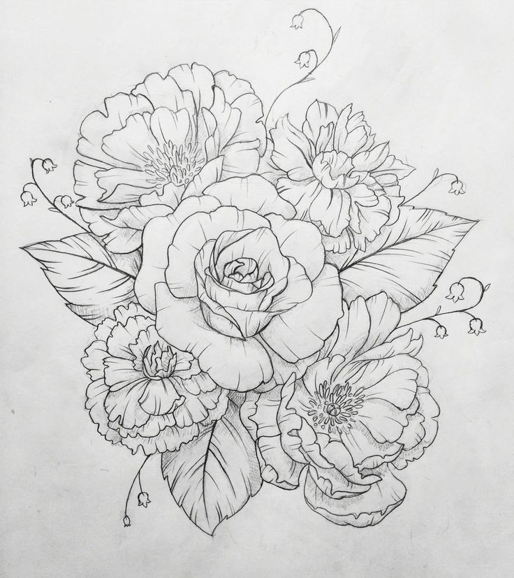 Anemone Flower Line Drawing : Image result for ankle peony tattoo designs tattoos