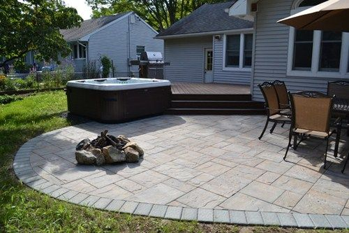 Deck Designs Hot Tub | Long Island Hot Tub Tub Bullfrog Spas With Trex Deck  And