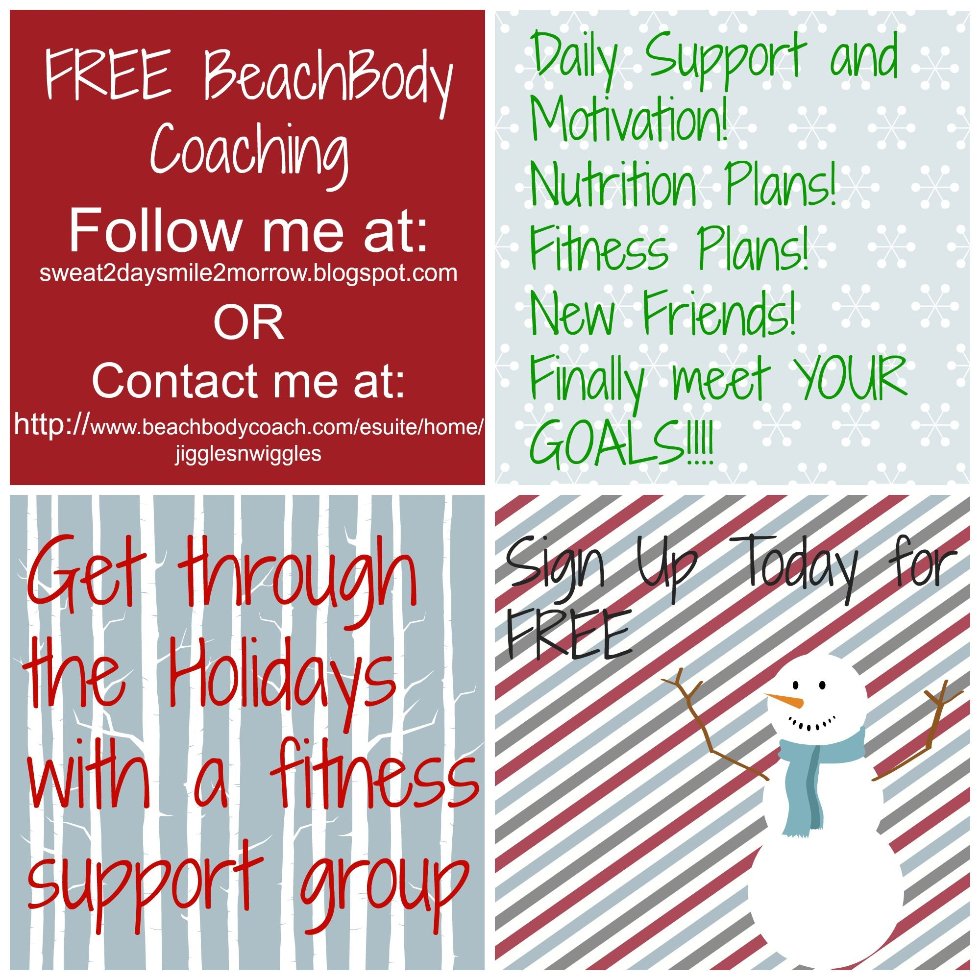 FREE BEACHBODY COACHING #fitness #motivation #Christmas #Holidays #support #clean eating #FUN