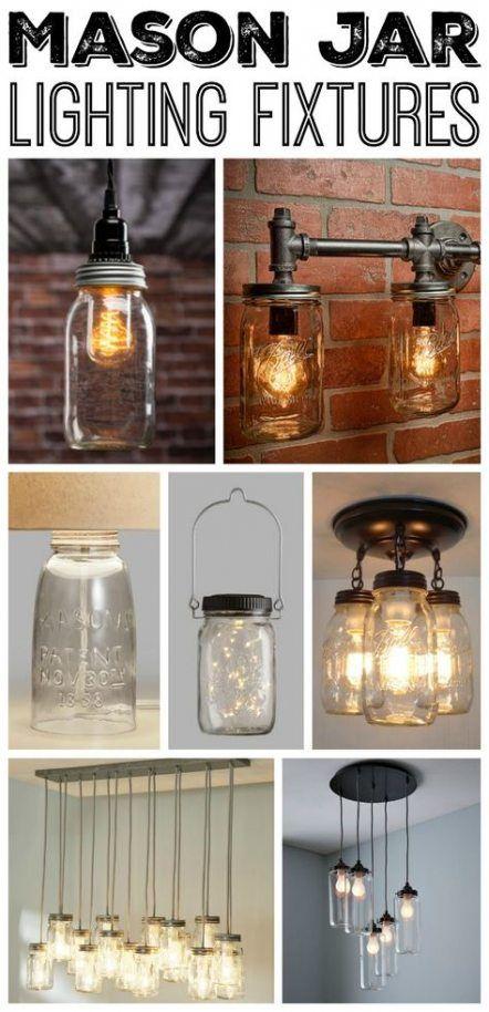 Photo of 58+  Ideas Farmhouse Bathroom Fixtures Mason Jars