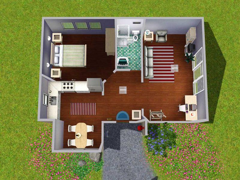Sims 3 Starter House Floor Plan Ile Ilgili Gorsel Sonucu House Flooring House Floor Plans Starter Home
