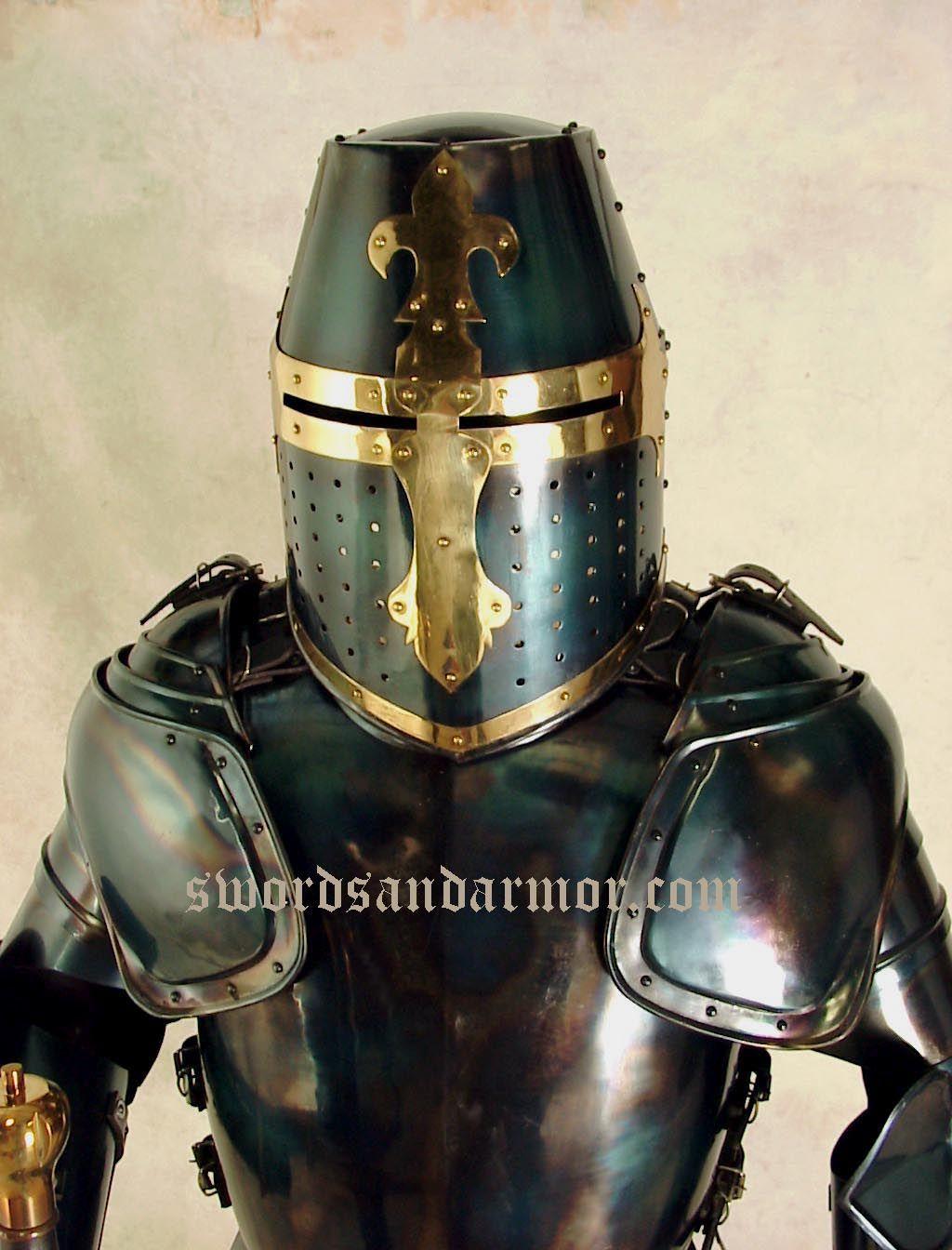 Pin By Stuart Gant On Dwarf Ref Medieval Knight Armor Black Armor