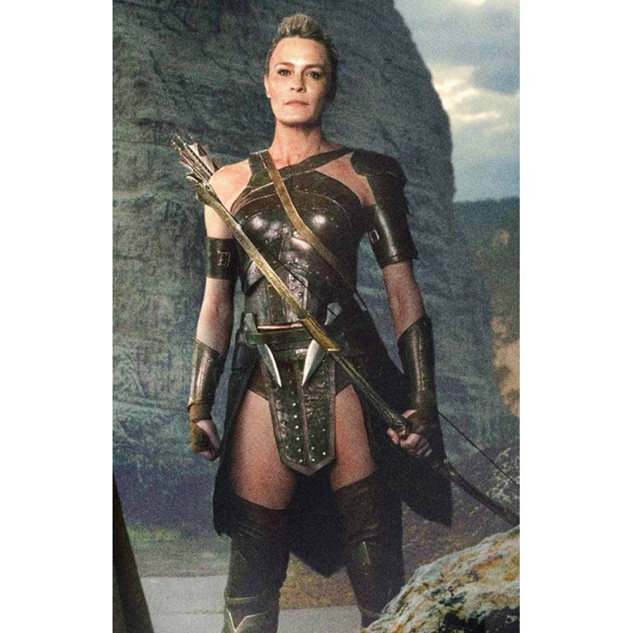 Antiope Justice League Leather Corset Robin wright