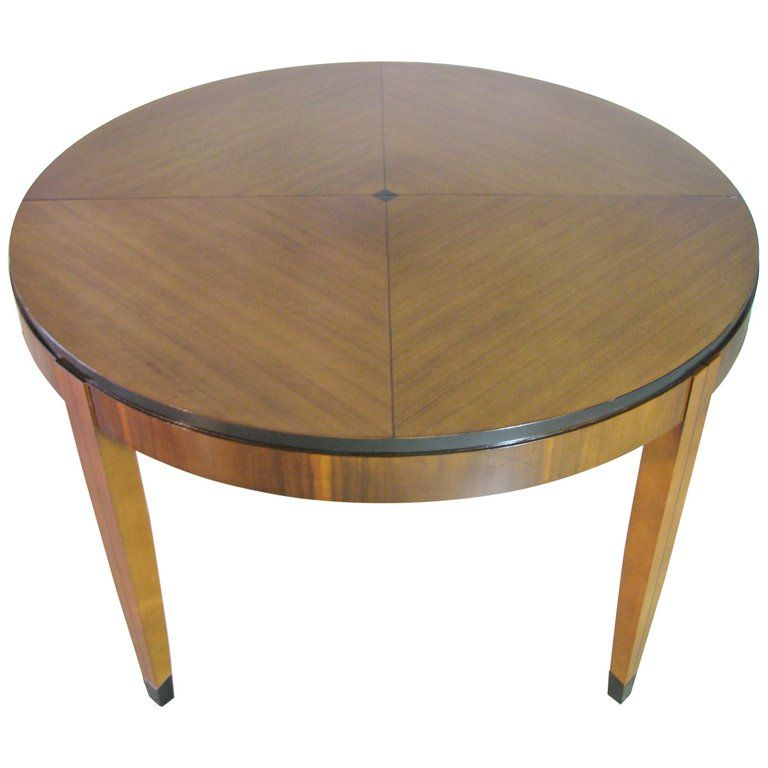 Mastercraft Art Deco Postmodern Style Dining Table Patterned