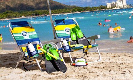 Image For 57 Off Snorkel Umbrella And Chair Rentals Big Waves