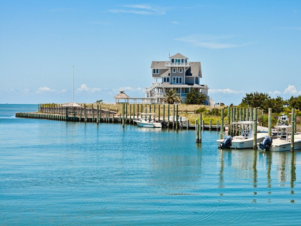 NHatteras Village Vacation Rental - VRBO 256873 - 2 BR Hatteras Island Condo in NC, Gorgeous Waterfront-Minutes from Beach-Boat- Dock-Pool
