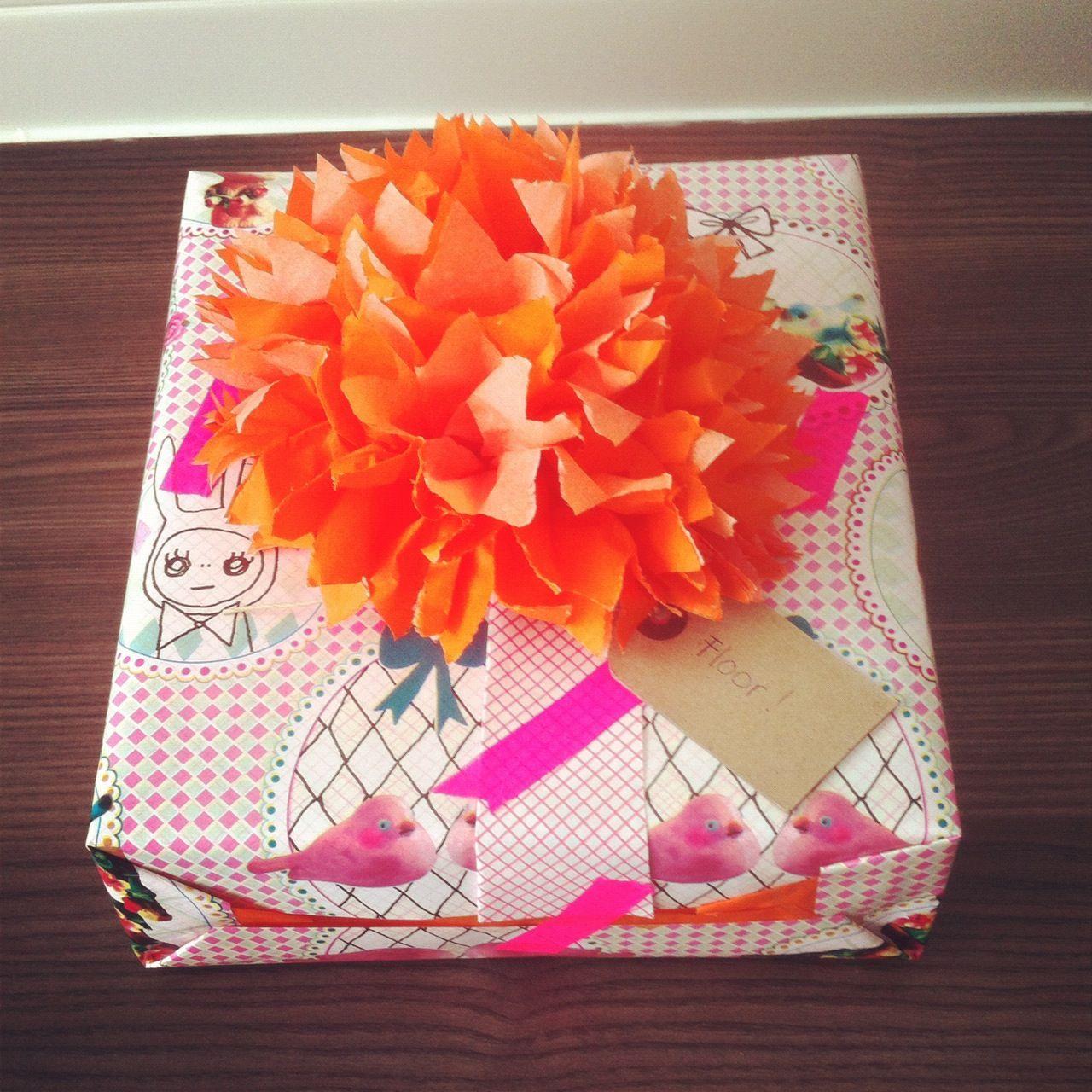 #giftwrapping #pompon #margotslingerland