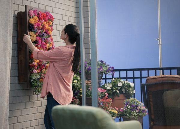 Blumenkasten vertikal aufhängen selber bauen   bastelideen ...
