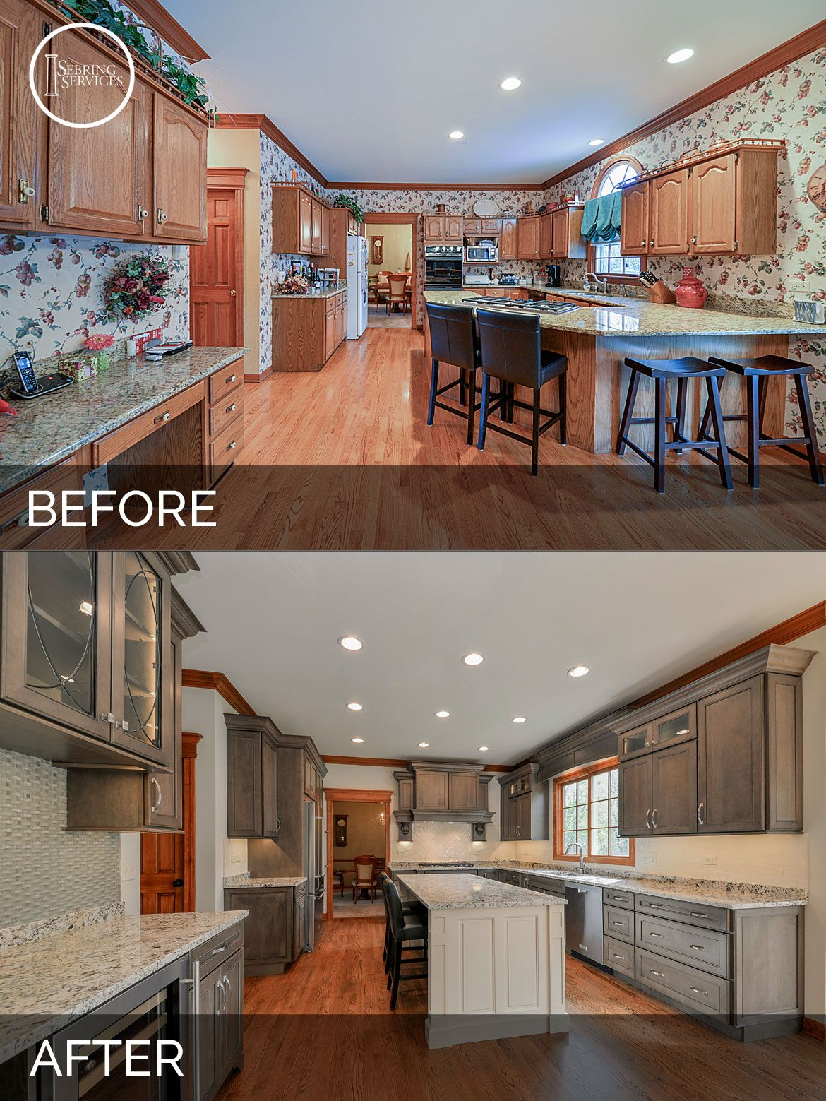 Scott & Karla's Kitchen Before & After Pictures In 2019