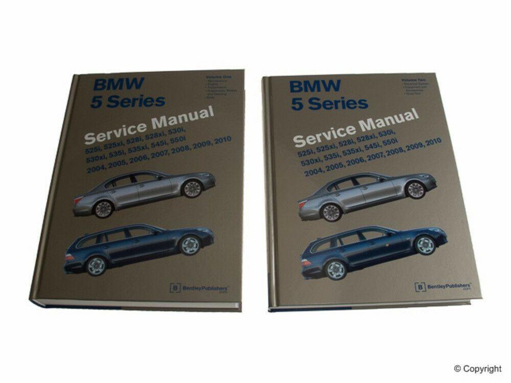 Ebay Sponsored Repair Manual Bentley Repair Manual Wd Express 989 06013 243 Fits 06 10 Bmw 550i Repair Manuals Repair Bmw