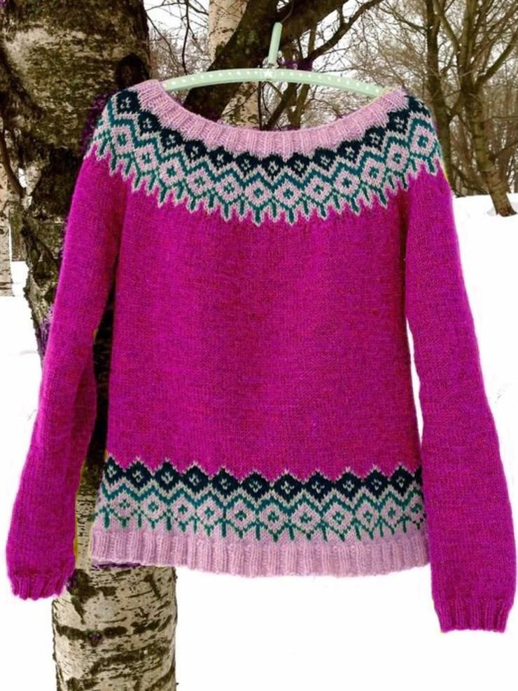Soft Casual Plus Size Round Neck Sweater 3