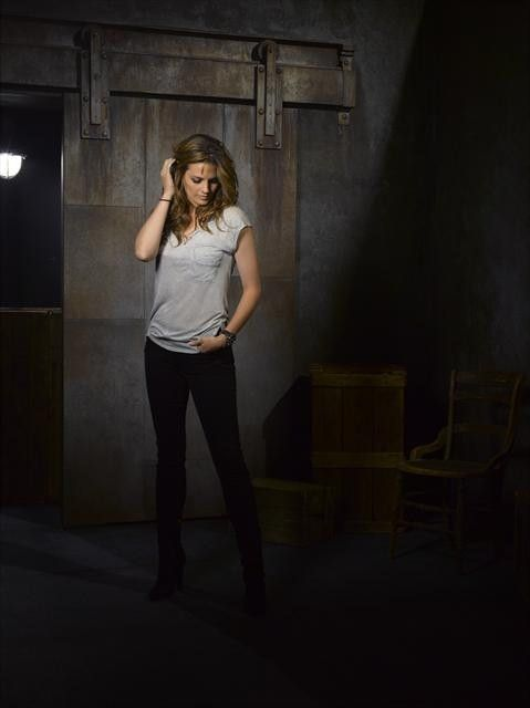 Stana Katic Keeps It Coy as Kate Beckett in Castle Season 5