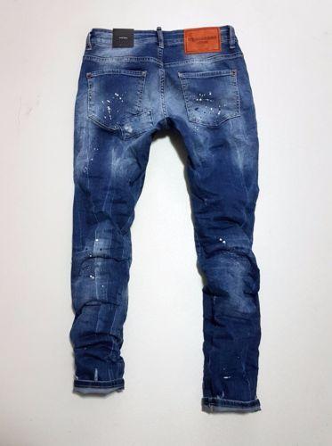 Jeans On Sale, Slim Jean, Denim Blue, Cotton, 2017, 30 34 36 38 Dsquared2