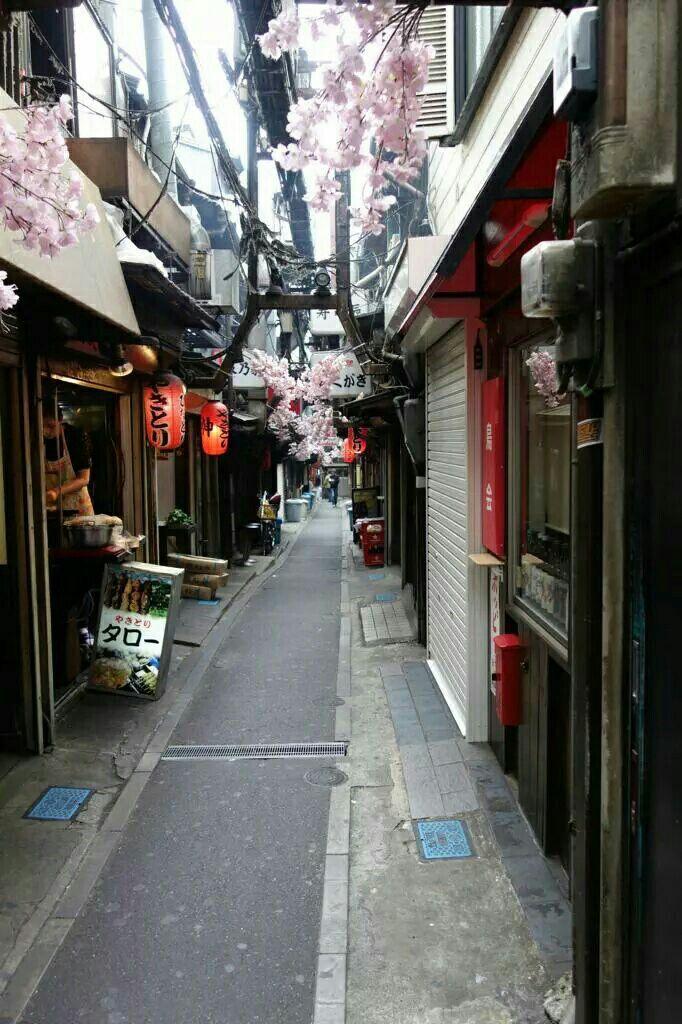 احدى شوارع اليابان Anime Scenery Wallpaper Scenery Wallpaper Tokyo
