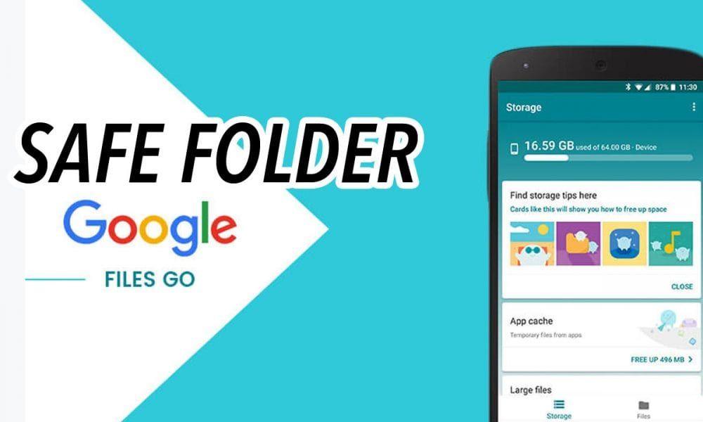 Cara Aktifkan Safe Folder Di Aplikasi Files Go Aplikasi Tips
