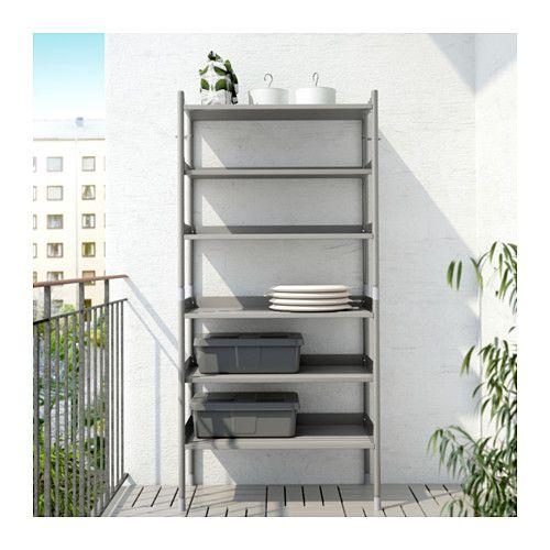 Beau HINDÖ Shelf Unit, Indoor/outdoor   IKEA Ikea Shelving Unit, Shelf Units,
