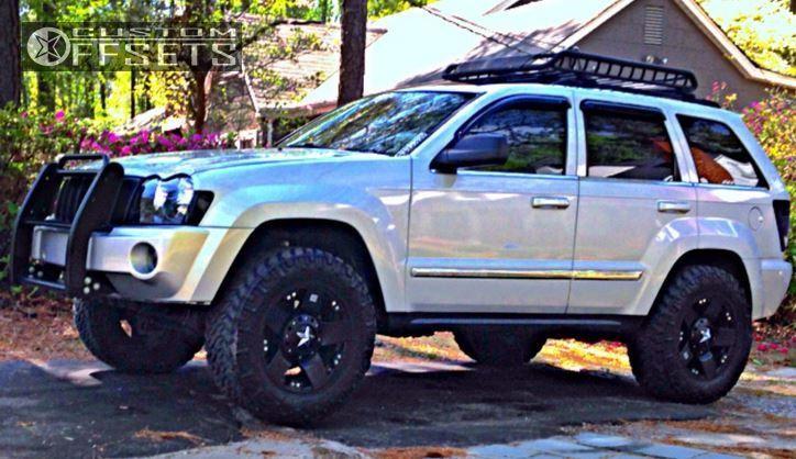 6463 11 2005 Grand Cherokee Jeep Leveling Kit Xd Rockstar Black