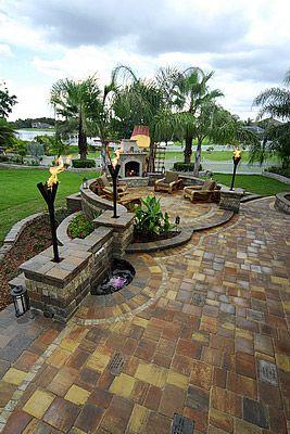 Walkways, Driveways, Hardscaping, Paving, Valrico, Florida, FL