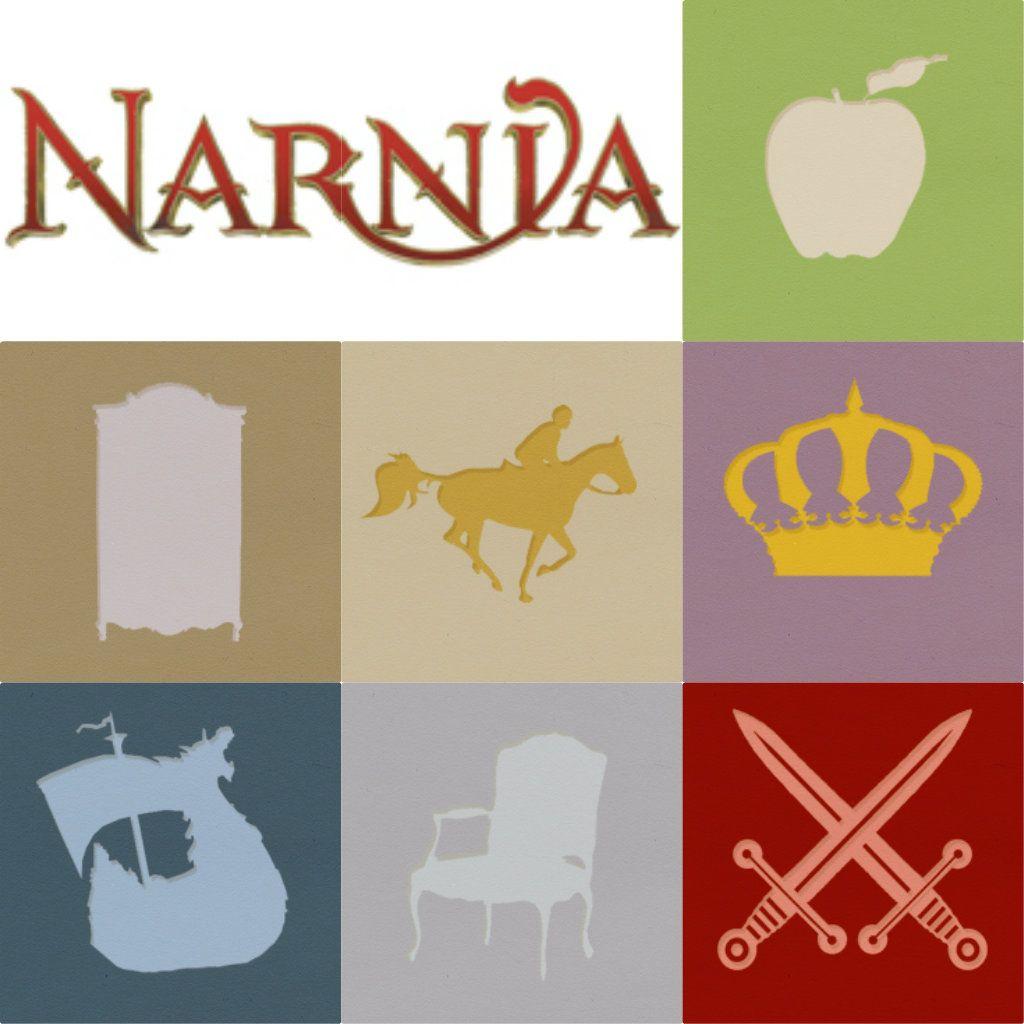 Minimalist Classroom Book ~ Narnia novels minimalist posters the magician s nephew
