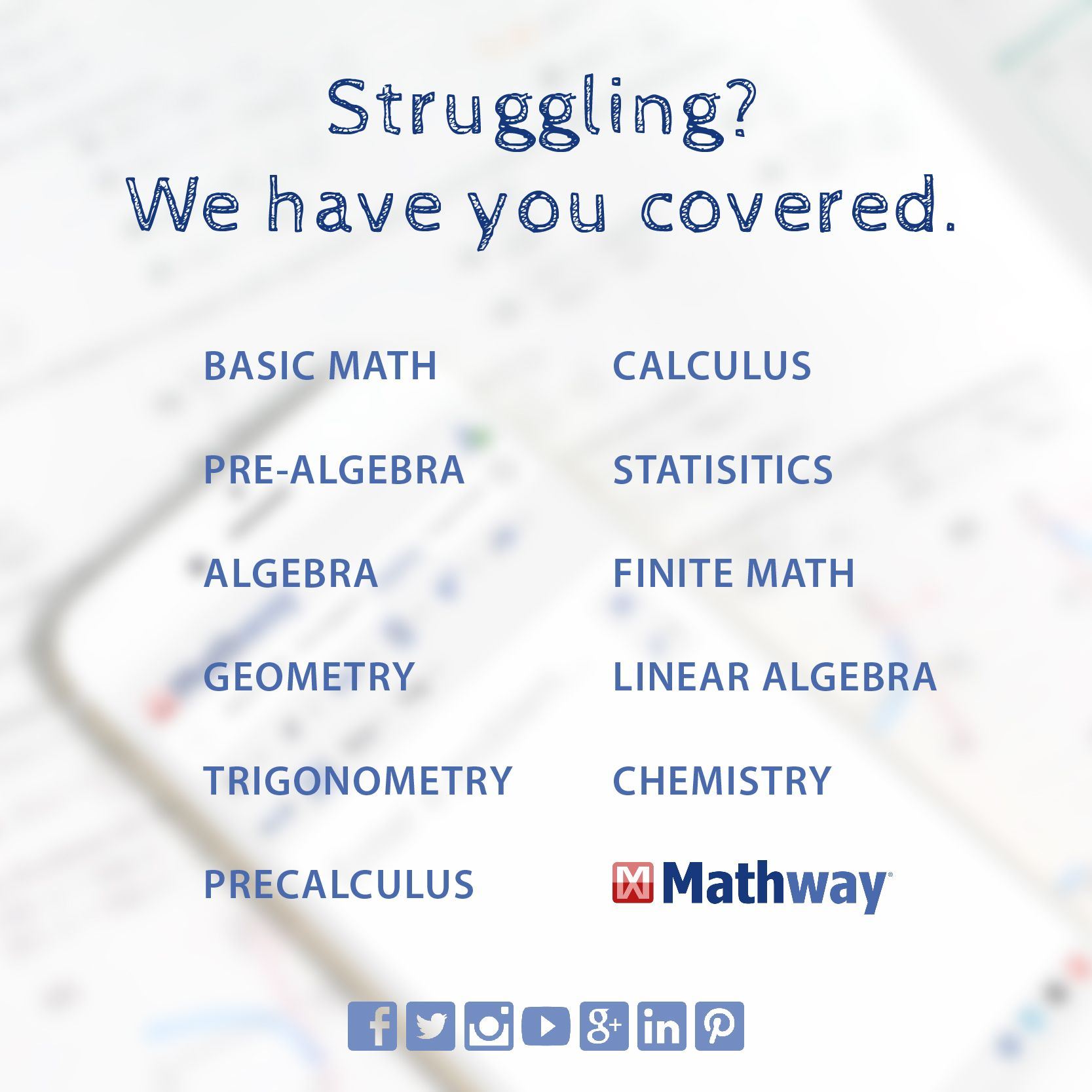 Found a math problem that is difficult to solve? Use Mathway ... on