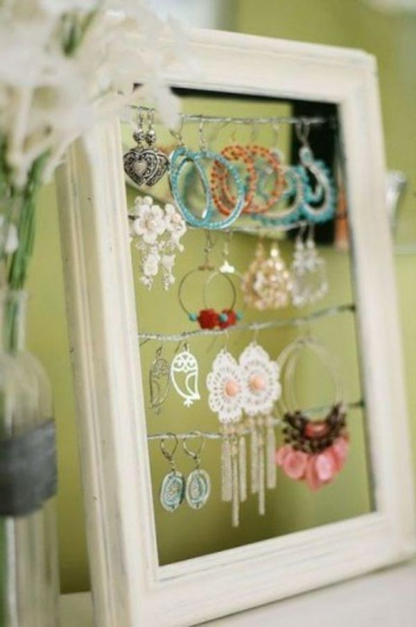 Comment ranger ses bijoux ? Pinterest Jewellery display, Father
