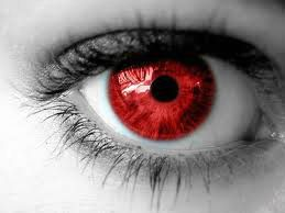Red Colored Contacts Eye Art Eye Drawing Colored Contacts