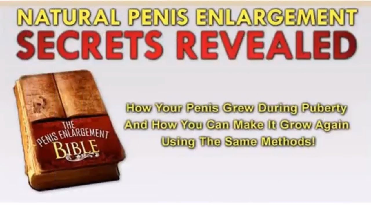 Image result for penis enlargement bible review