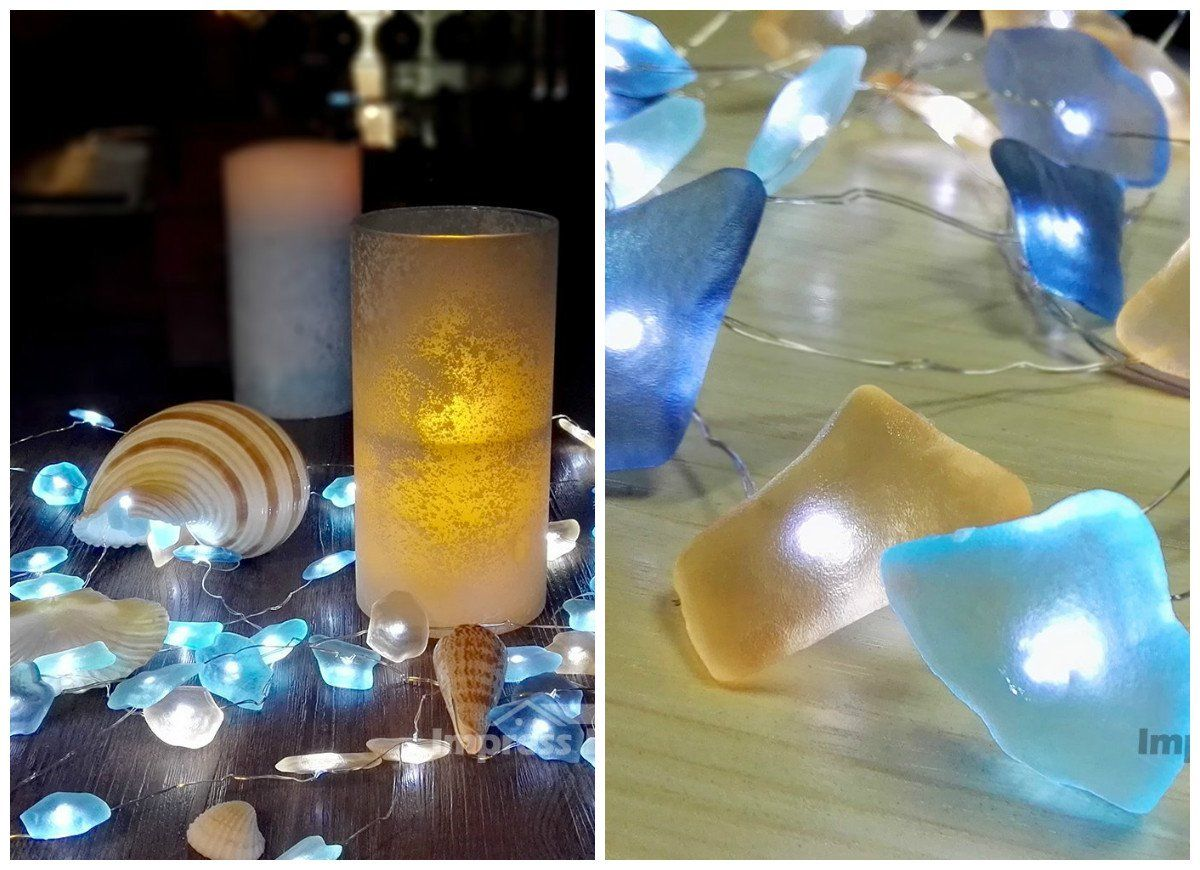 10 cheap ways to bring the beach to the backyard glass lights and