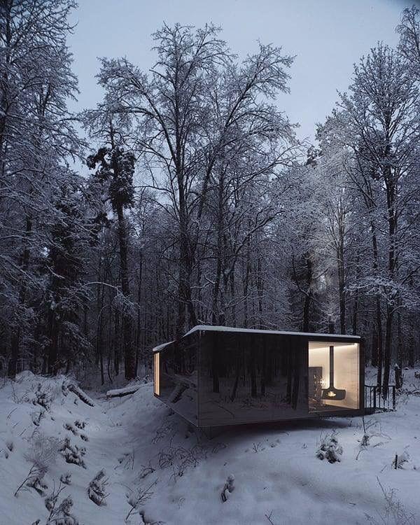pin von pensive auf haus im wald architektur haus und haus im wald. Black Bedroom Furniture Sets. Home Design Ideas