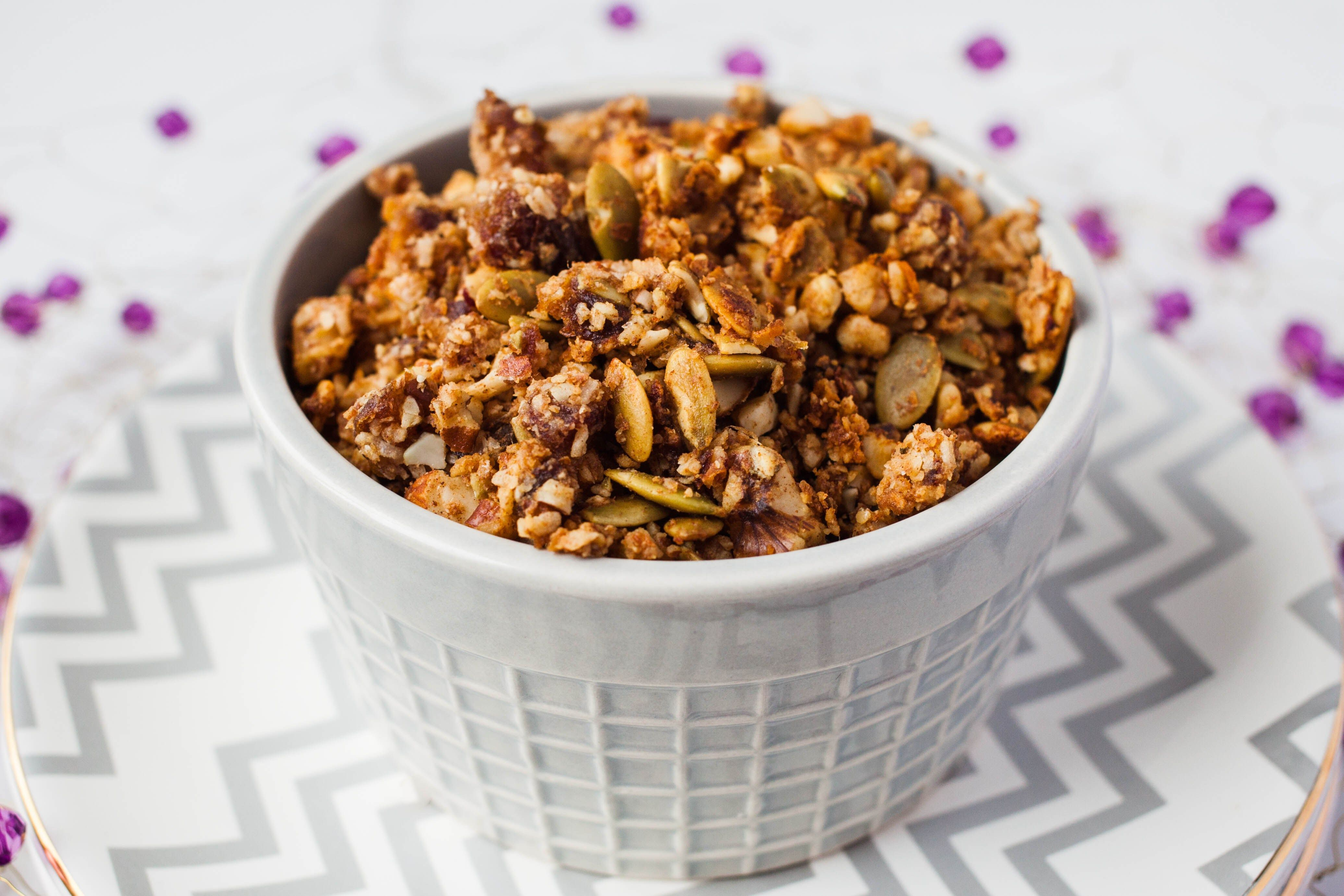 Grainfree granola whole30 friendly powered by