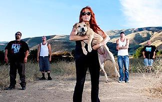 Tia Torres is the founder of Villalobos Rescue Center, one of the largest rescuers of pitbulls in the US. (Also on the show Pitbulls and Parolees)