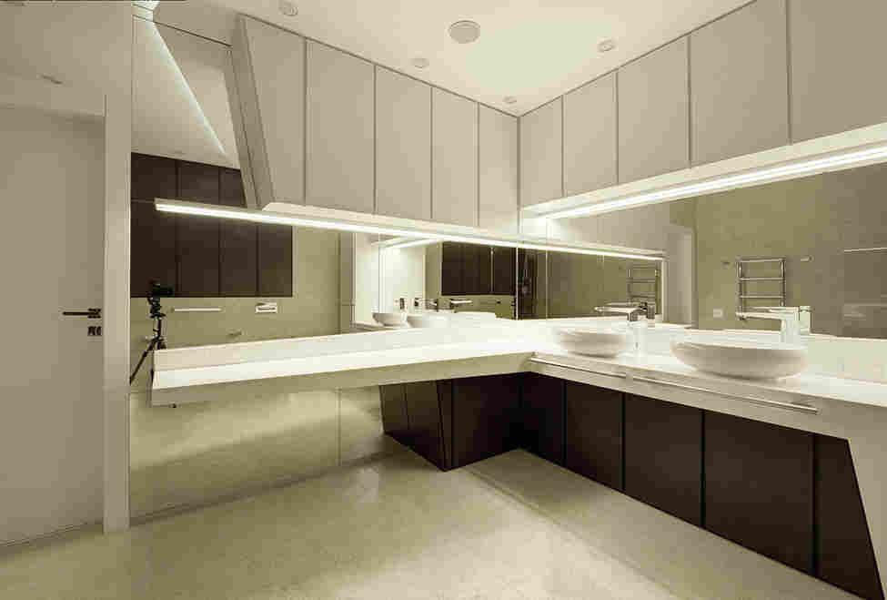 Интерьер квартиры площадью 115 кв. метров в Москве