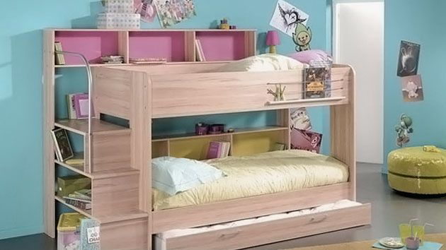 Exciting Modern Furniture Kids Decorating Bed Interior Small Beds Designs  Space Room Kids Bedroom Design Ideas