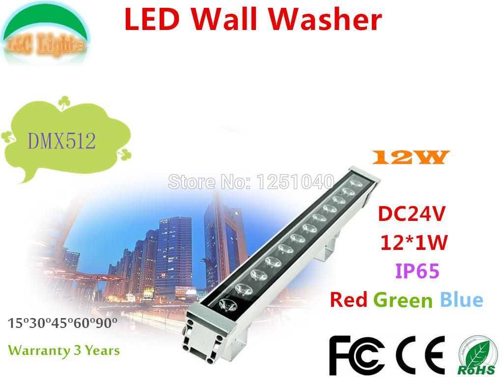 W rgb changeable led wall washer dcv led outdoor spotlights led