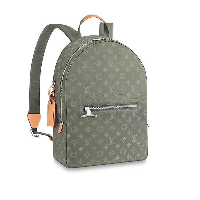 23c5fcb6214 View 1 - Monogram Titanium BAGS Fashion Shows Backpack PM